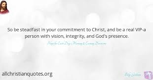 billy graham quote about christ person presence commitment