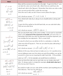 exponents and radicals in algebra she