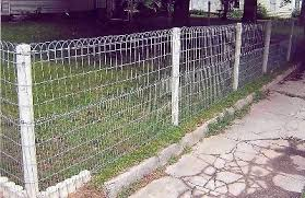 3 Ornamental Wire Fencing Loop Top Garden And Lawn Fence To Enclose Your Yard Wire Fence Garden Fencing Farm Fence