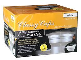 Majestic 5x5 Pvc Solar Fence Post Cap Light