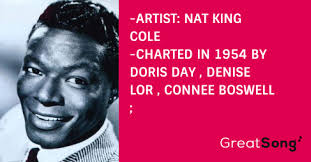 If I Give My Heart To You Paroles – NAT KING COLE – GreatSong