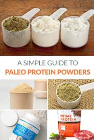 paleo protein powders a simple guide