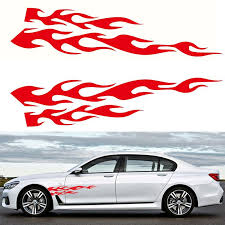 2020 Red Flame Graphic Decal Flaming Car Sticker For Car Truck Auto Body Hood Panel Window Rear Windshield From Haoxincar 19 68 Dhgate Com