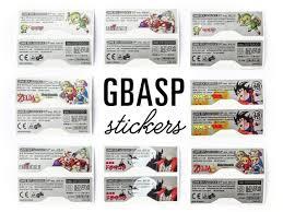 Custom Gba Sp Vinyl Stickers Nintendo Game Boy Advance Etsy