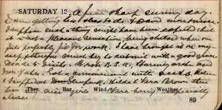 12 April 1919 diary of Dr John Stewart Muir (1845-1938) of Selkirk –  Rumbling Clint's Scottish Notes