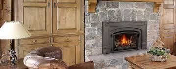 gas fireplace insert vs wood burning