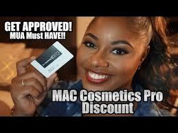mac cosmetics pro card