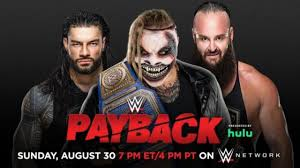VIDEO: WWE Payback 2020 Predictions By ...