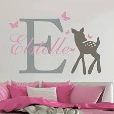 Yoyoyu Removable Custom Name Elephant Butterfly Wall Decal For Kid Baby Room Art Mural Vinyl Wall Sticker Girls Room Decor Y 73 Y18102209 Tree Wall Decal Tree Wall Decals From Gou09 10 38