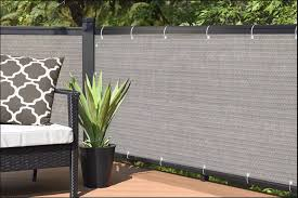 3ft Height Privacy Screen Fence Screen Wind Screen For Balcony Backyard Deck Patio Fence Porch Grey Lazada Ph