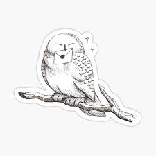 Hedwig Stickers Redbubble