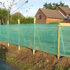 shade screen net garden fence wall