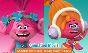 trolls 3d animation trailer