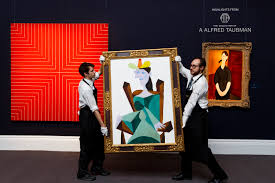Sotheby's Begins a. Alfred Taubman Auctions Worth $500 Million ...