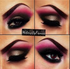 pink and black eye makeup 2020 ideas