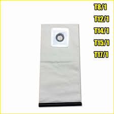 Chất Lượng Cao Có Thể Giặt Máy Hút Bụi Phần Cho KARCHER Hút Bụi Vải Túi Lọc  T8/1 T12/1 t14/1 T15/1 T17/1|