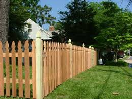 Cedar Picket Fence 1x4 2x2 1x6 Variable Spacing