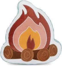 Amazon Com Heritage Kids Campfire Figural Dec Pillow Multi Home Kitchen