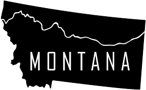 Amazon Com Jb Print Magnet Montana State Vinyl Decal Sticker Car Waterproof Car Decal Magnetic Bumper Sticker 5 Kitchen Dining