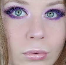 purple maa smokey eye makeup