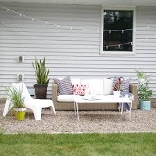 How To Make A Diy Pea Gravel Patio Modern Chemistry At Home