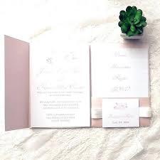 invitation kit rose wedding invitations