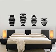 Vinyl Wall Decal Amphora Ancient Greek Vase Antiquity Home Decor Stick Wallstickers4you