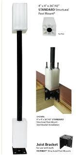 Fairway Vinyl 4 Vinyl Post Sleeves At Deck Builder Outlet Online Store