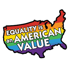 Equality Is An American Value Bumper Sticker 5 X 4