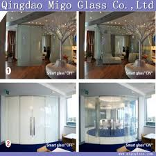 tempered switchable smart glass magic