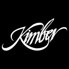 Amazon Com Kimber Firearm Logo Vinyl 5 Wide Color White Decal Laptop Tablet Skateboard Car Windows Sticker Computers Accessories