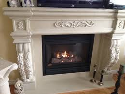 cast stone fireplace mantel mantle