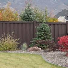 Trex Seclusions 5 In X 5 In X 9 Ft Woodland Brown Wood Plastic Composite Fence Post With Crown Post Cap Wbpcc050509 The Home Depot
