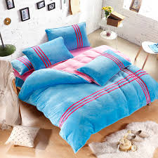 winter warm striped quilt cover c