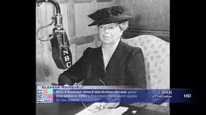 eleanor roosevelt pearl harbor radio address dec