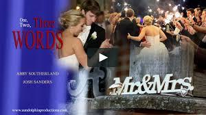 Josh and Abby Sanders - Wedding Day Highlights on Vimeo