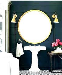 wall mirror bathroom vanity large light
