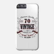 70th birthday gift idea vine at 70