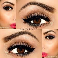 eye makeup for dark brown eyes cat