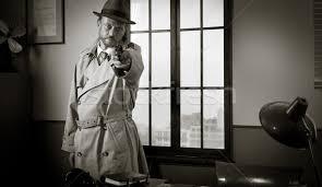 Dedektif · işaret · tabanca · adam · siper · kat - stok fotoğraf © luciano  de polo (stokkete) (#4880825) | Stockfresh