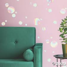 Holographic Circle Peel Stick Wall Decals Oriental Trading