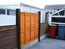 Concrete Fence Post Extender All Garden Fence Panels Fit Solid Steel 29 Colours 37 99 Picclick Uk
