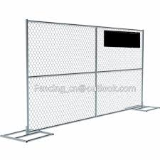 Temporary Fencing For Festival And Event 8ft X 12ft Size Chain Link Mesh Portable Fence Panel Buy Temporary Fencing For Festival And Event Temporary Construction Chain Link Fence Fine Mesh Chain Link Fence