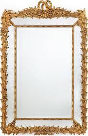 wall mirror john richard beaded frame
