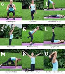 a to z workout my healthyish life