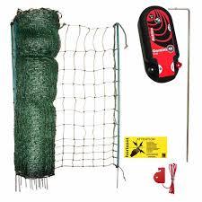 50m Poultry Netting Kit Gemini Mains 12v