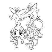 Kleurplaat Pokemon 2957