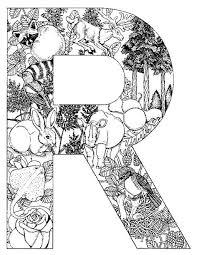 Kleurplaten Van Alle Letters Van Het Alfabet Disegni Da Colorare