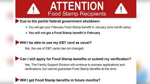 government shutdown puts food sts in