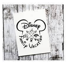 Family Vacation Disney Decal Vinyl Decal Disney Decal Yeti Etsy